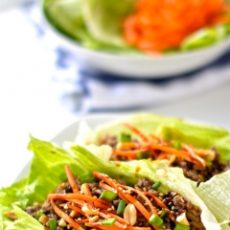Chef Mary's Favorite Easy Asian BBQ Lettuce Wraps