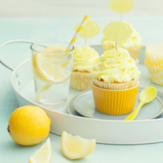 Chef Danica's Favorite Lemon Cupcakes