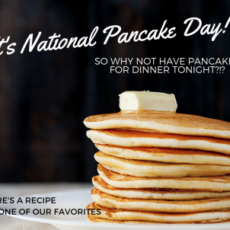 NAtional Pancake DAy Facebook Stack