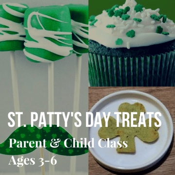Parent & Child Ages 3-6 St. Pat's Treats 2018