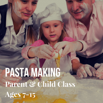 Parent & Child Chopped Pasta Making