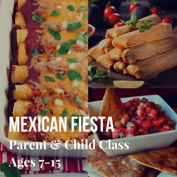 Parent & child Class Mexican Fiesta