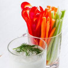 Oscar Worthy Vegetable Crudité