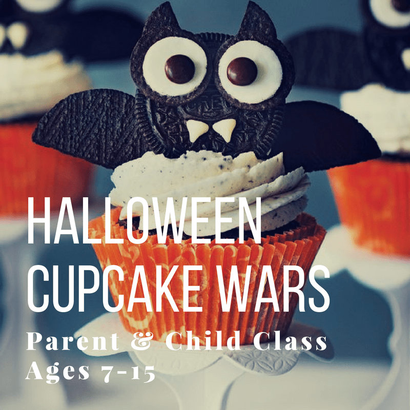 ages 7 15 halloween cupcake wars