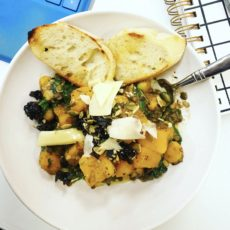 Butternut squash and Lentil Harvest Bowl