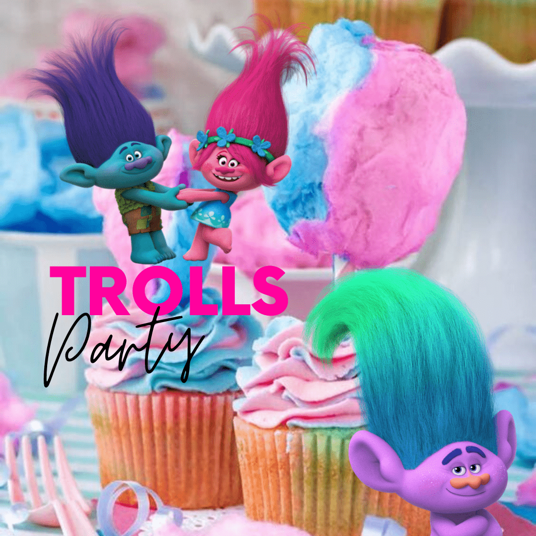 Trolls Party Kids Cooking Birthday Party Way Cool Cooking School Inc
