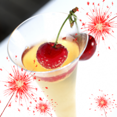 """Cherry"" Glad it's 2021! Cocktail"